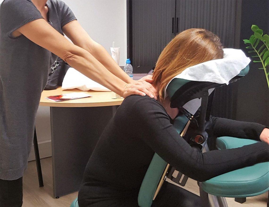 massage en entreprise à paris