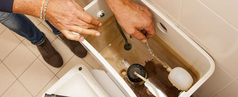 fuite chasse d'eau