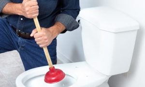Sanibroyeur wc bouché